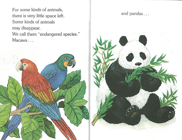 endangered animals中身2